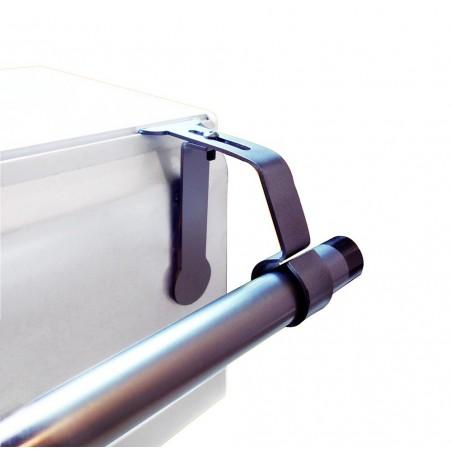 Support de Tringle à rideaux  sans perçage pour coffret volet roulant