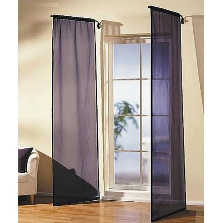 Tringle de porte lucarne : tringle à rideaux pivotante pour porte entrée