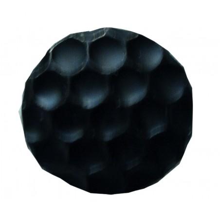 Clous Tapissier Alvéolé noir mat clou décoratif avec une tête martelée