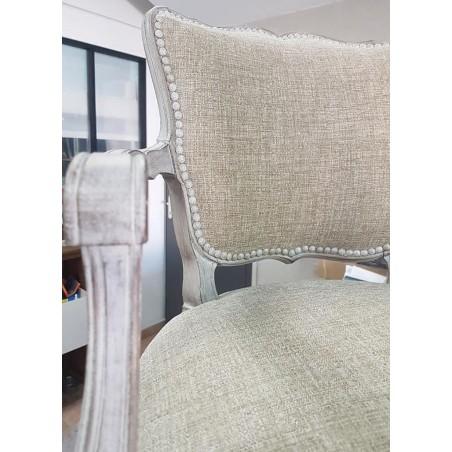clou tapissier blanc pailletées ébéniste nettoyage tissu d'ameublement