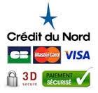 Paiement avec le Crédit du Nord