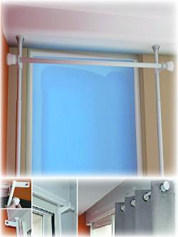 Tringle à rideaux sans perçage pour fenêtres